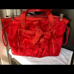 Lululemon Om Tote *Cherry Red*